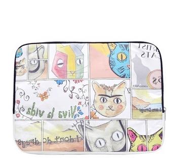 dogo desenli notebook çantası
