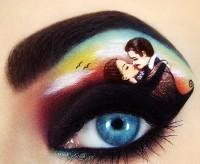 ilginç yaratıcı göz makyajları 10