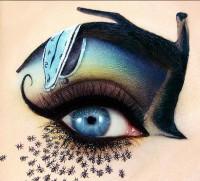 ilginç yaratıcı göz makyajları 8