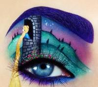ilginç yaratıcı göz makyajları 9