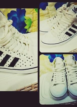 adidas siyah beyaz ayakkabı