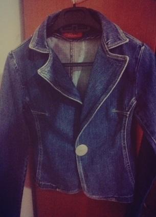 koyu mavi kot ceket