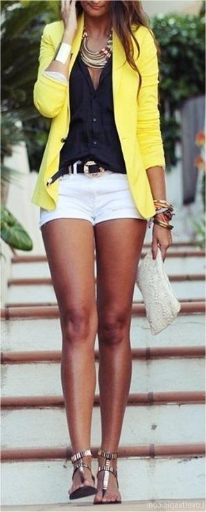 sarı blazer ceket