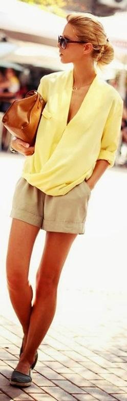 sarı uzun kollu şifon elbise