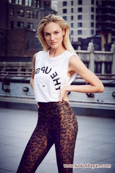 leopar pantolon beyaz tshirt kombin