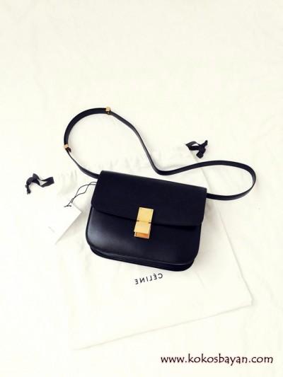 siyah deri ufak mini çanta
