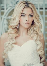 maşalı uzun gelin saçı modeli