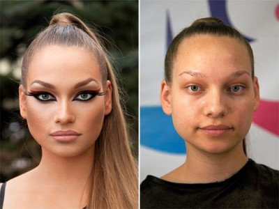 makyajla gelen değişim 12