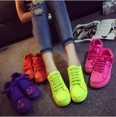 rengarenk spor ayakkabı