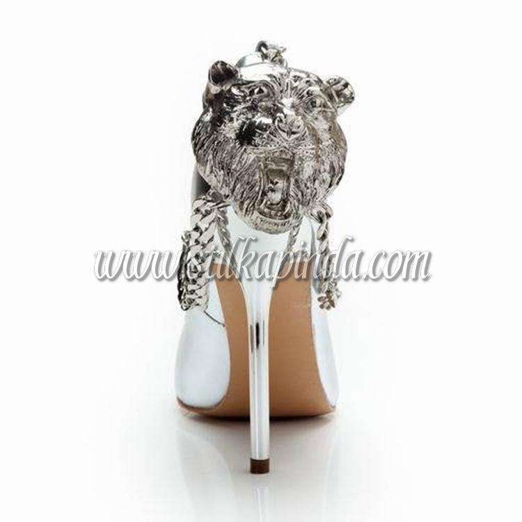 gümüş stiletto