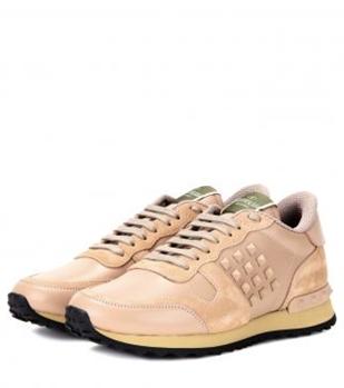 rockrunner valentino spor ayakkabı zımbalı sneakers