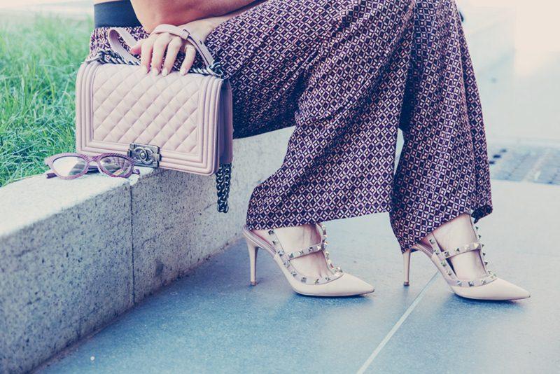 valentino rockstuds topuklu ayakkabı stiletto