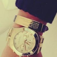 altın rengi marc by marc jacobs kadın saat