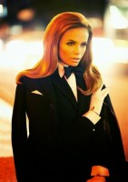 andojen tarzı kadın siyah blazer ceket