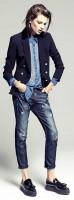 androjen style tarz boyfriend jeans siyah blazer ceket