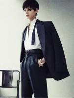 androjen tarz style siyah kadın klasik pantalon