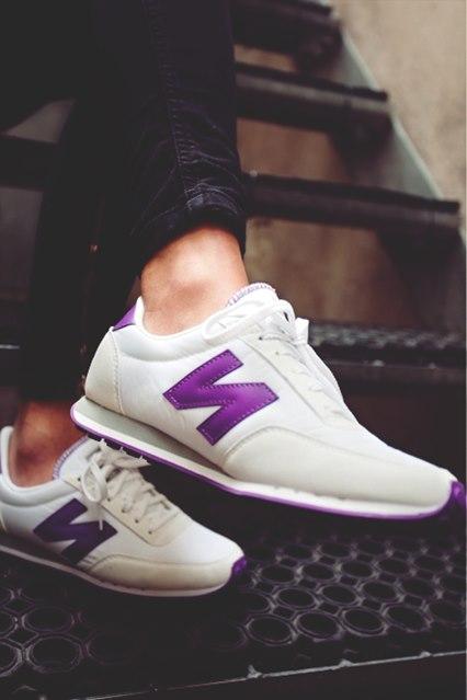 beyaz mor kadın new blance kadın spor ayakkabı
