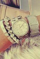 bileklik gümüş rengi marc by marc jacobs kadın saat