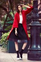 bu tarz benim kırmızı ceket