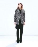 ceket marka zara kadın uzun palto