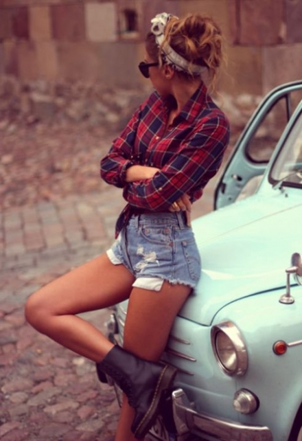 2015 kadın ekose modası