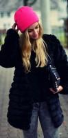 en tarz siyah ceket kombinleri