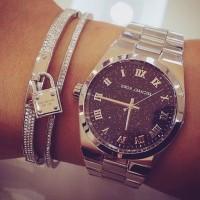 gümüş kol saati Michael kors gümüş bileklik