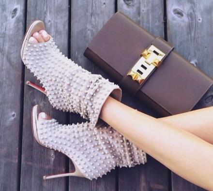 2015 Christian Louboutin topuklu ayakkabı kreasyonu