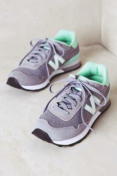 gri new blance spor ayakkabı kadın