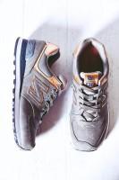 gri pembe new blance kadın spor ayakkabı