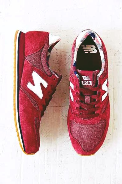 kırmızı kadın spor ayakkabı new blance
