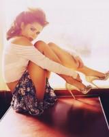 kısa mini desenli etek kadın bluz topuklu kadın ayakkabı