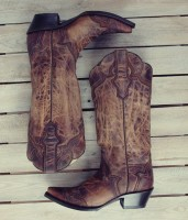 kahve nubuk kovboy botları biker çizme
