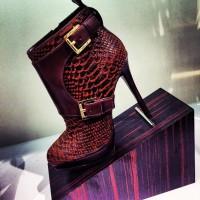 kahverengi kısa topuklu bot modeli