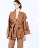 kahverengi kadın zara ceket mont kaban
