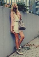 krem beyaz isabel marant gizli topuk spor ayakkabı