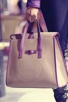krem mor büyük kol çantası hermes