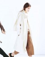 krem rengi kadın zara yeni sezon kaban mont ceket