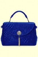 lacivert küçük el çantası versace