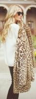 leoapar ceket mont kürk beyaz kazak kadın gözlük