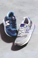 mavi lacivert gri new blance kadın spor ayakkabı