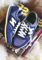 mavi new blance kadın spor ayakkabı