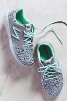 mavi yeşil new blance kadın spor ayakkabı
