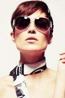 micheal korse moda güneş gözlüğü kahverengi camlı