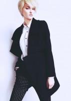 moda siyah ceket kaban kaşe kadın beyaz klasik gömlek tarz