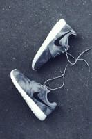 nike kadın gri beyaz spor ayakkabı