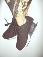 nike siyah spor ayakkabı kadın
