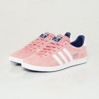 pembe beyaz kadın spor ayakkabı adidas