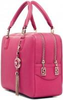 pembe versace kol çantası