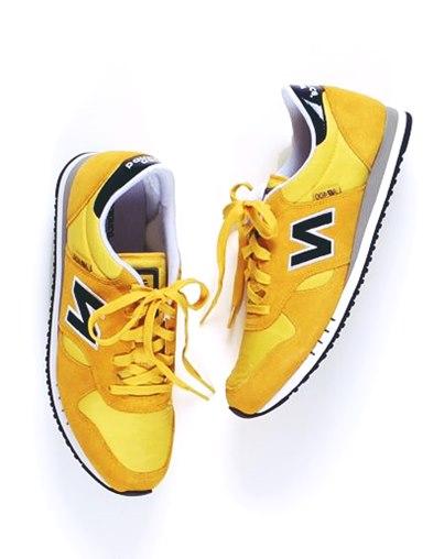 sarı new blance kadın spor ayakkabı